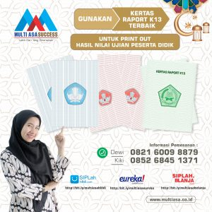 kertas raport multiasa