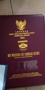 map raport sdn 05 ombak kubu